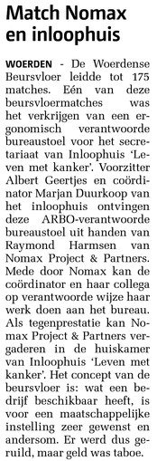 Woerdense Courant 27-11-13 Inloophuis Woerden
